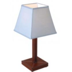 Lampada da comodino in pelle light